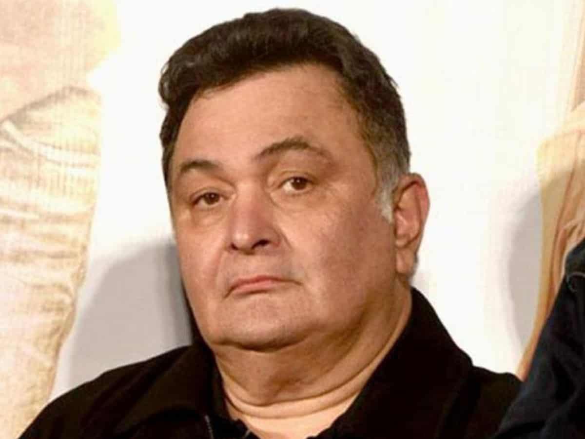Rishi Kapoor hospitalised