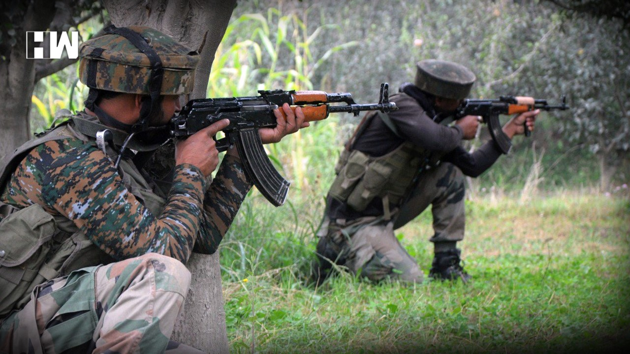 1 terrorist shot dead in pulwama