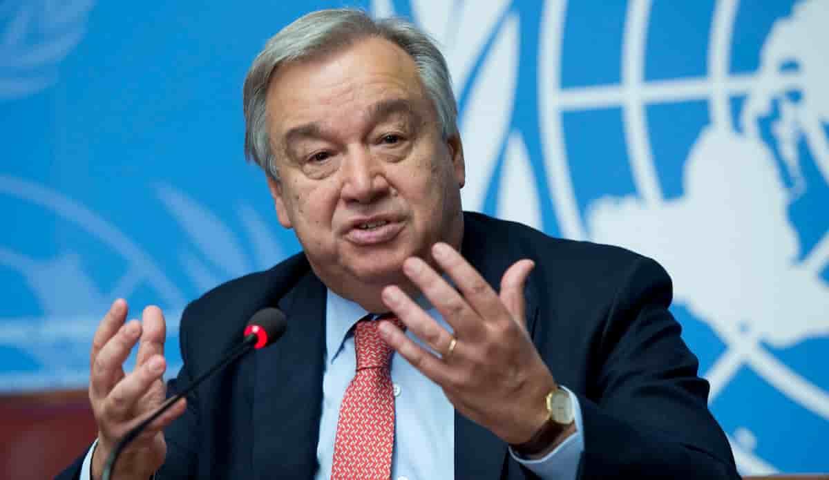 UN Secretary Guterres