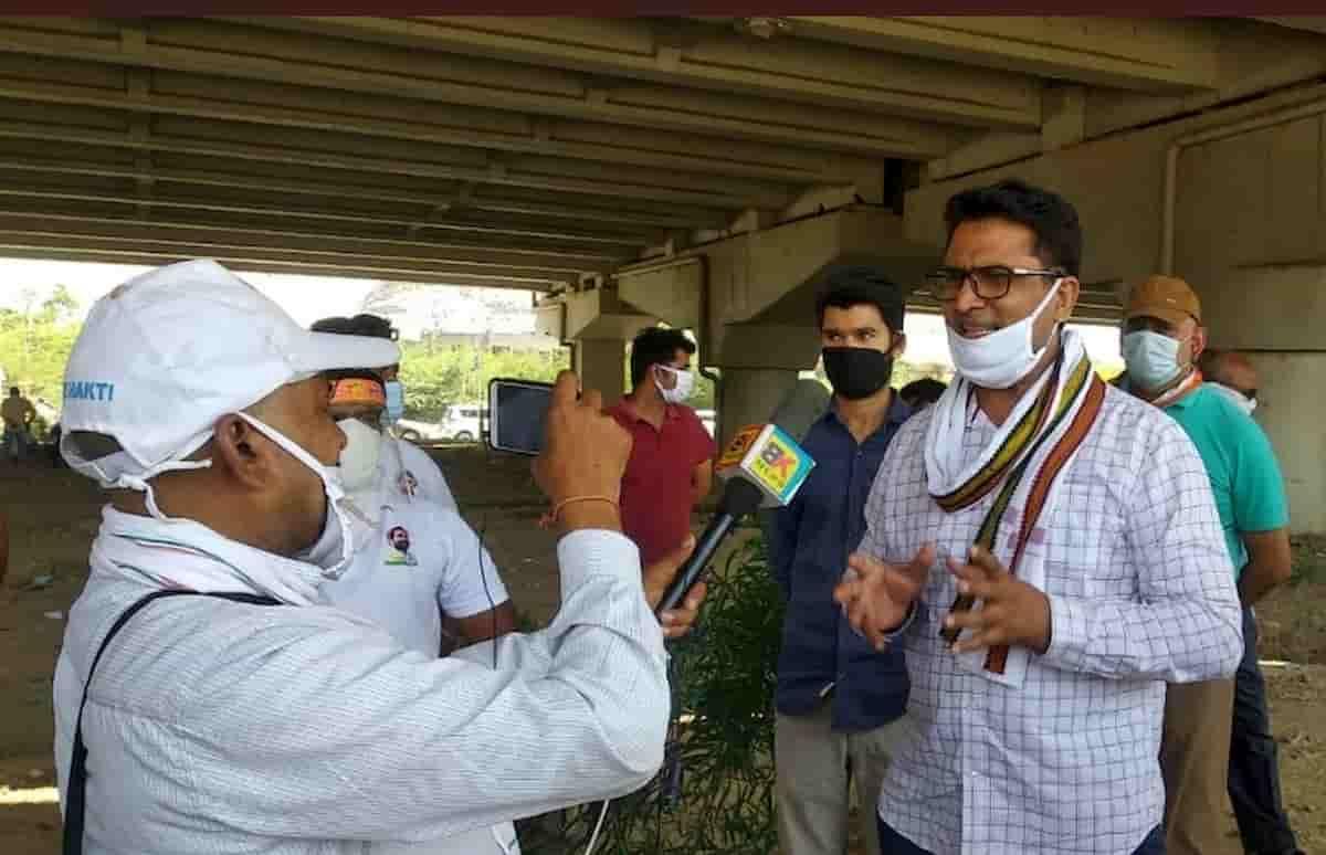 Congress Blames Kejriwal
