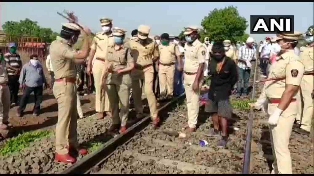Aurangabad Train Accident