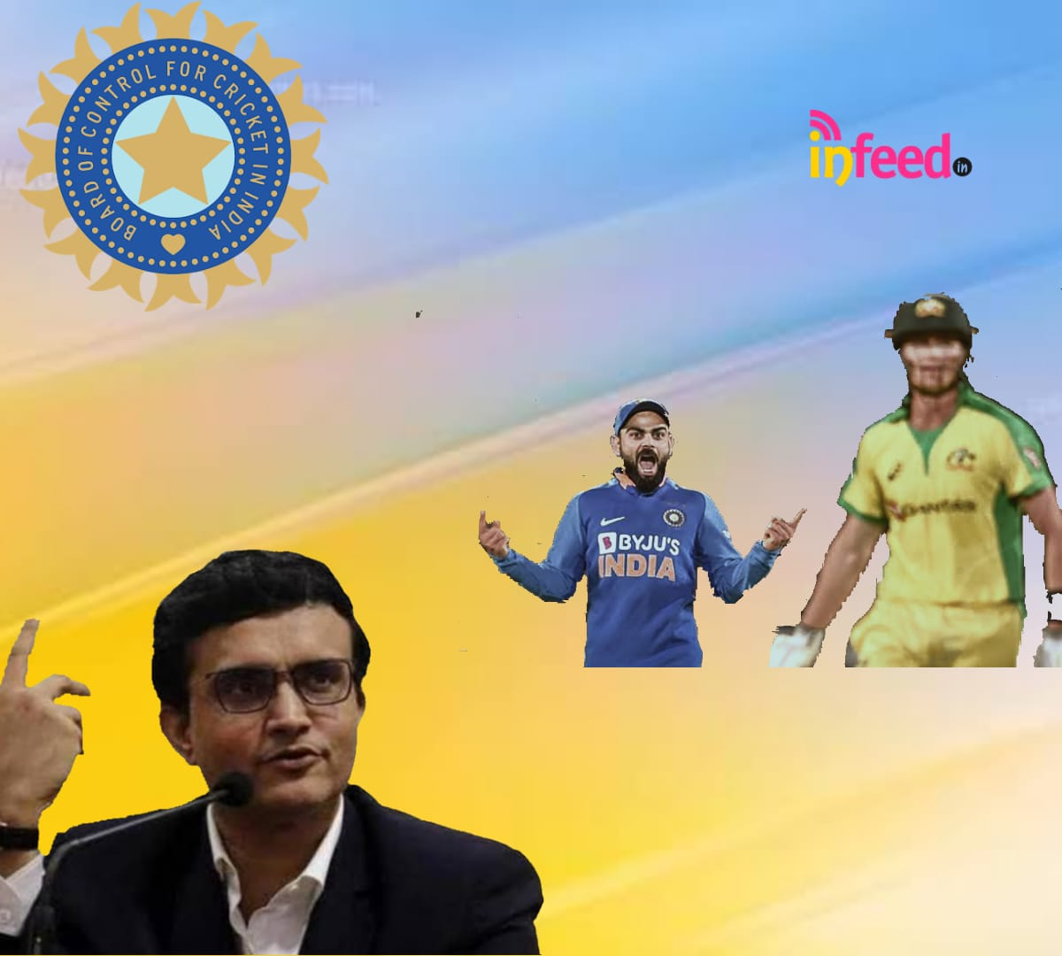 Ganguly on India vs Australia