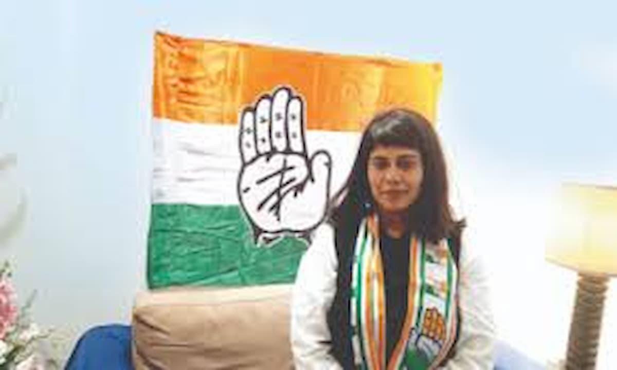 Delhi Congress Shivani Chopra