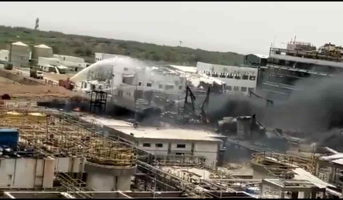 Dahej Chemical Factory Blast