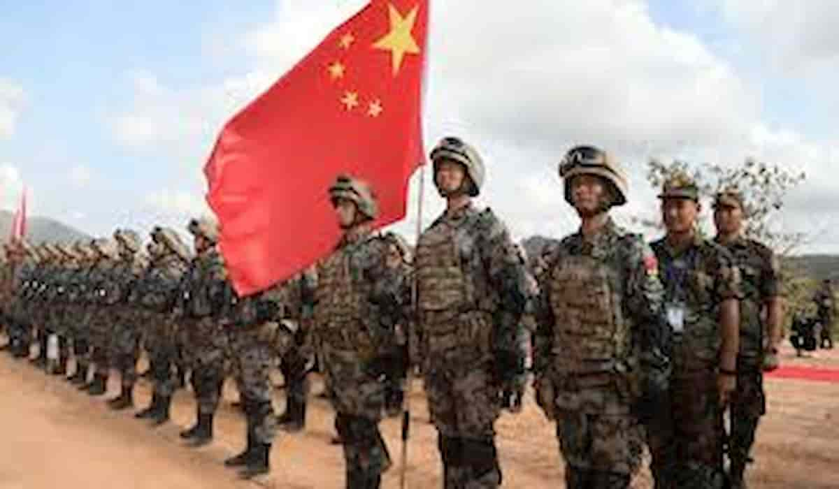 China Increases Force Deployment