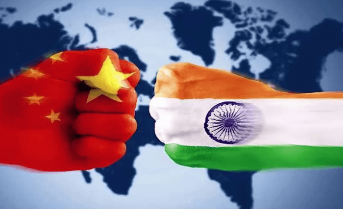 China in India