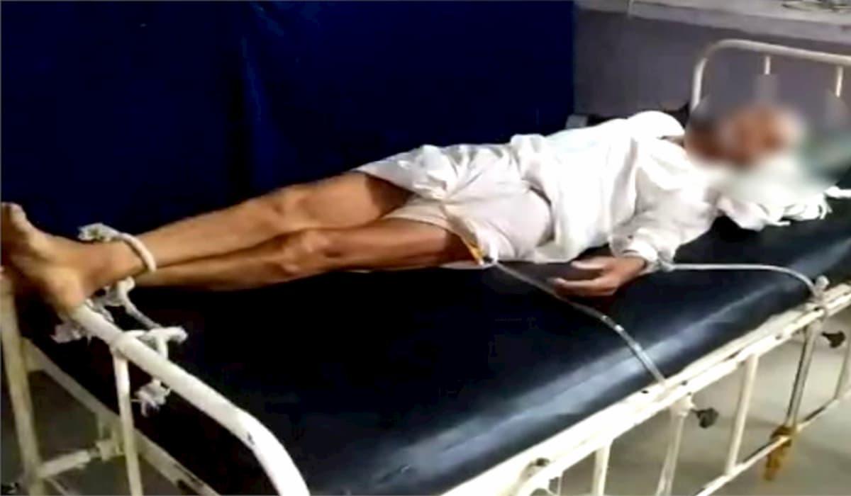 Shajapur Elder Tied to Bed