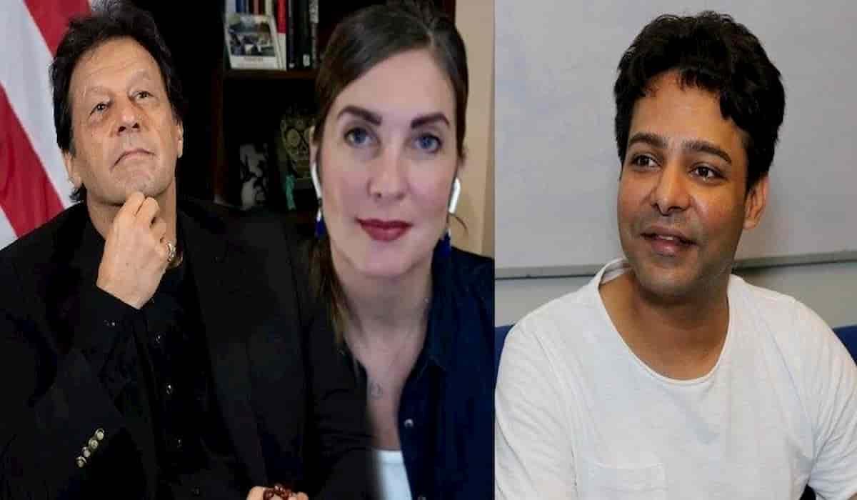US Blogger Cynthia Imran Khan
