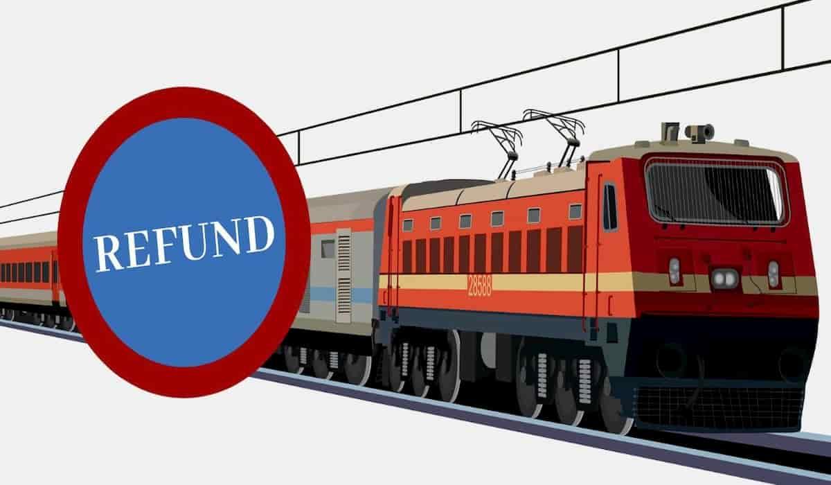 Indian Railway Refund