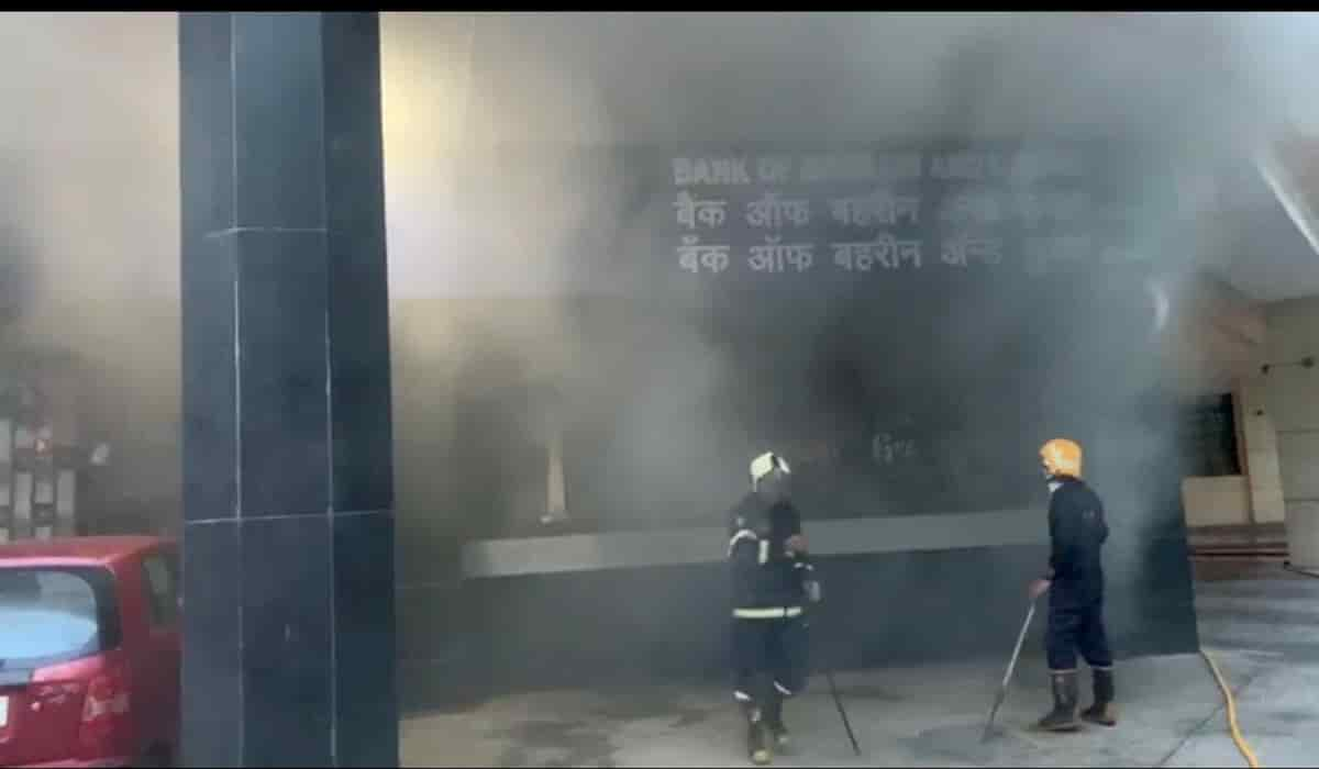 Nariman Point Fire