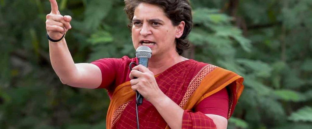 Priyanka Gandhi Attacks