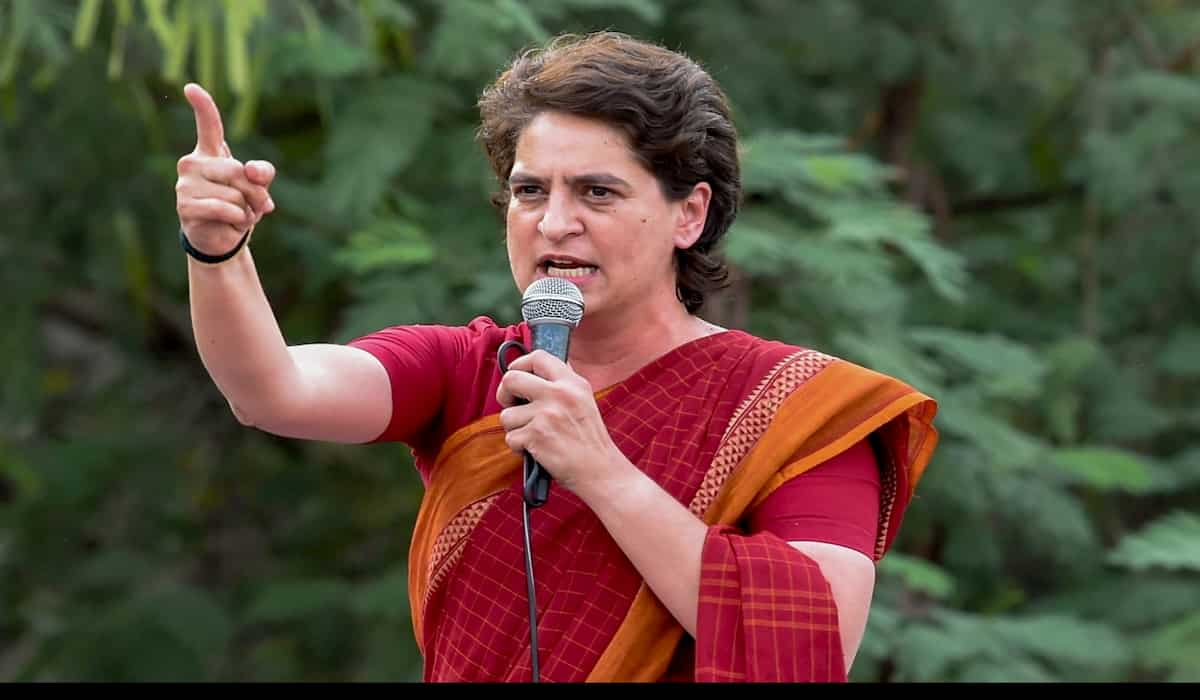 Priyanka Gandhi Attacks