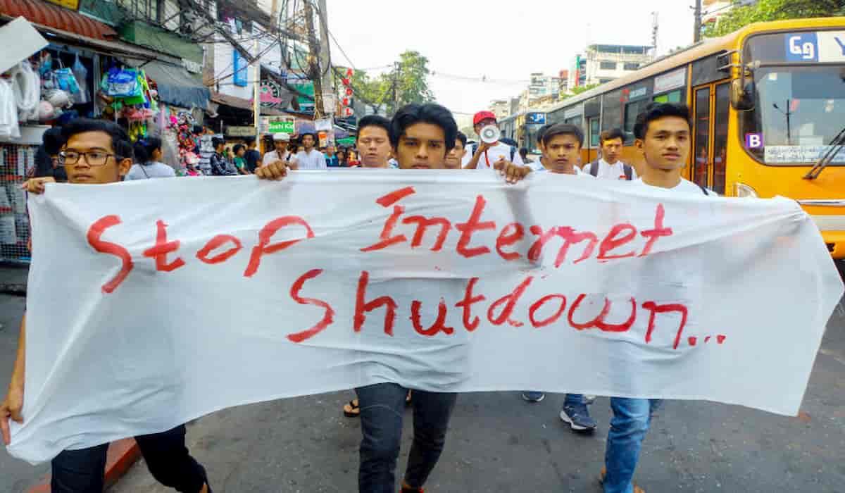 Myanmar Internet Shutdown