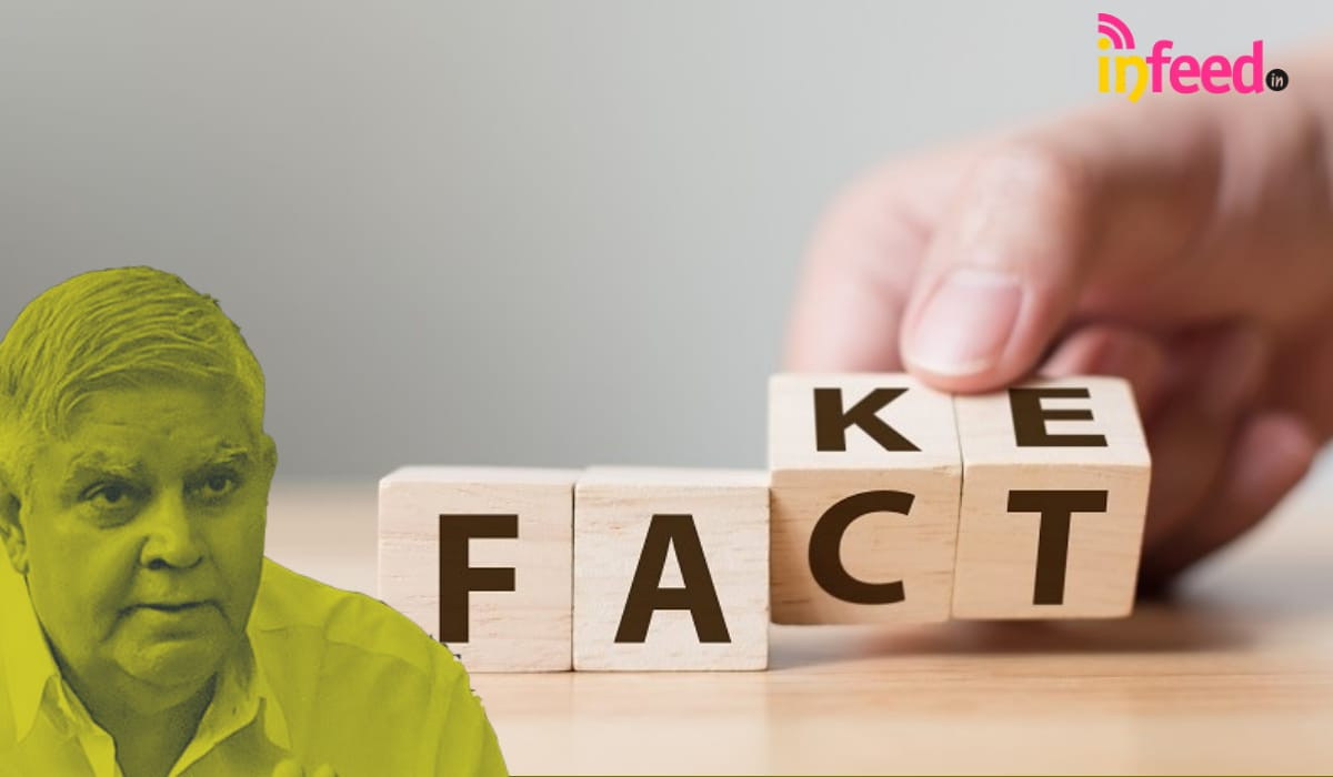 West Bengal Governor Shares Fake News