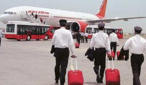 Air India Employees No Salary