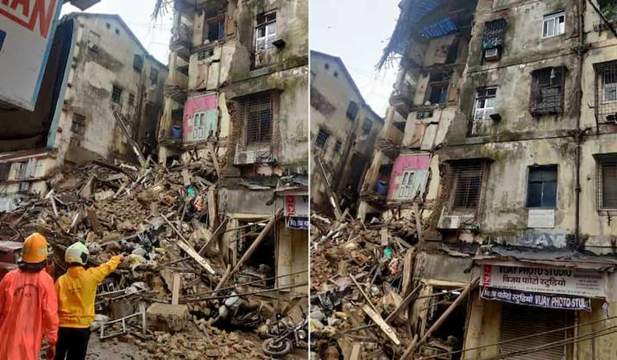 Building Collapses in Mumbai