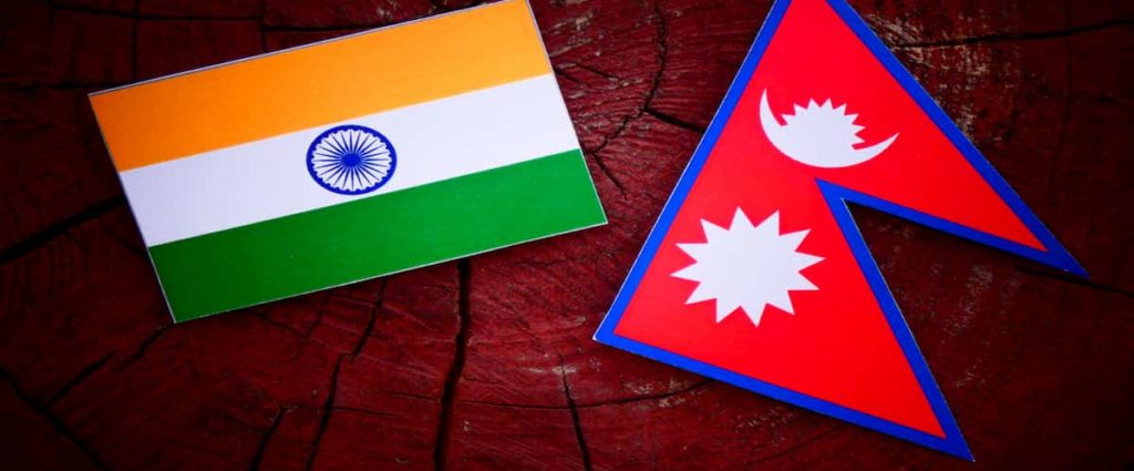 India Nepal Fence