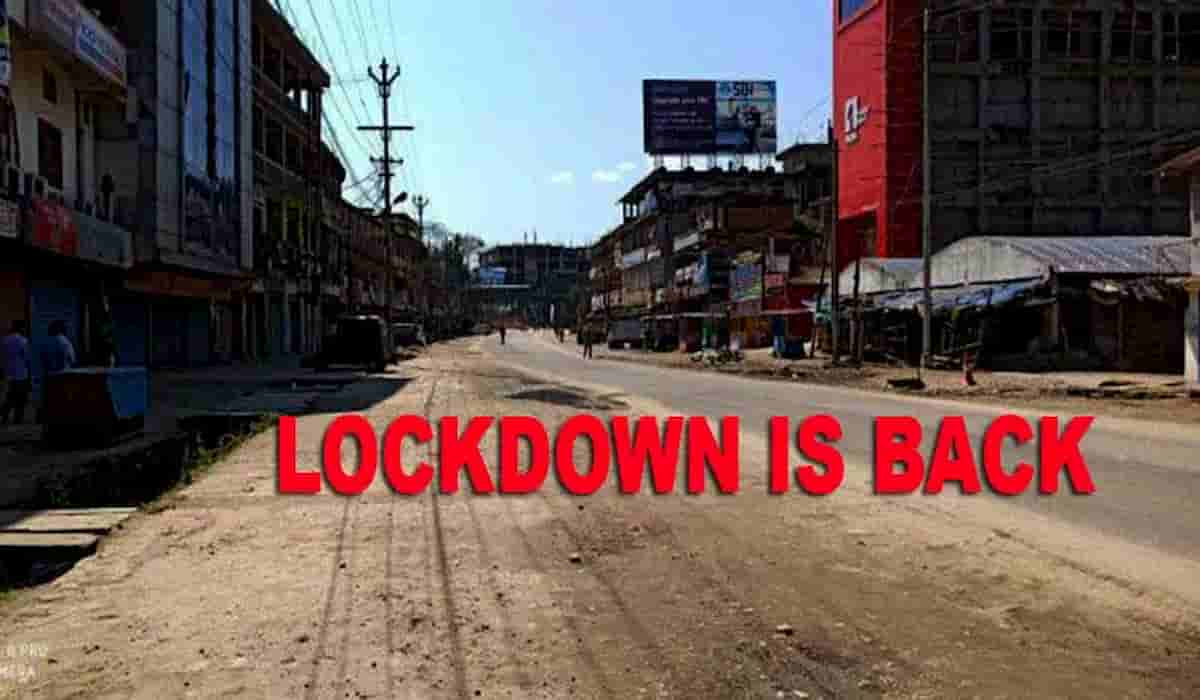Itanagar Lockdown