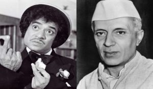 When Jagdeep Met Pt. Nehru