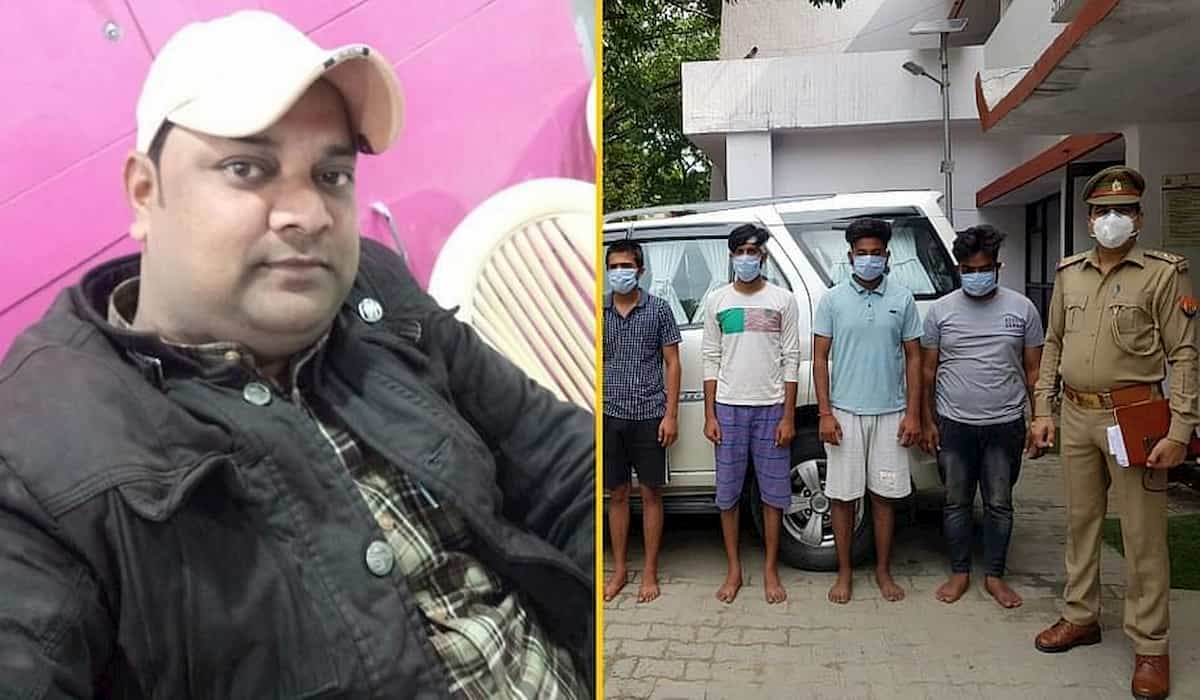 Journalist Shot in Ghaziabad