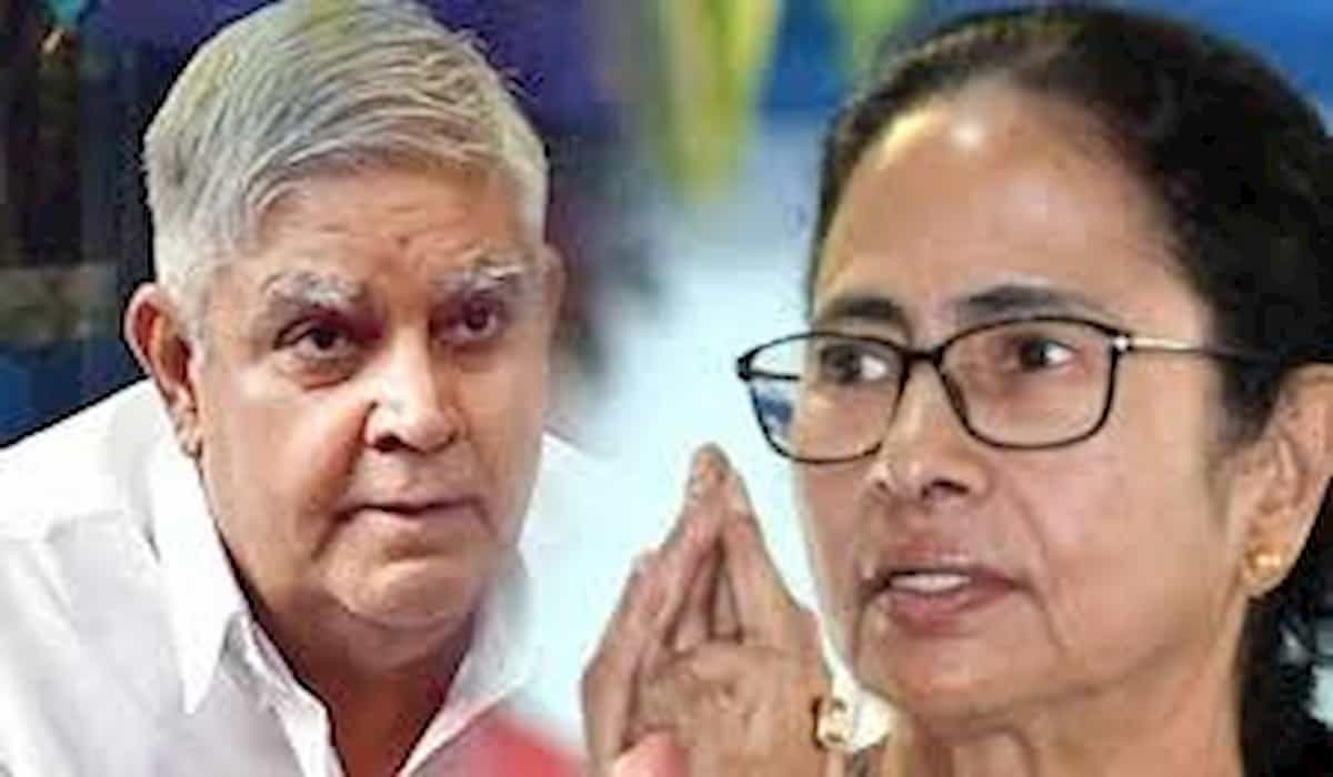 West Bengal Governor Dhankar Criticises Mamta Government