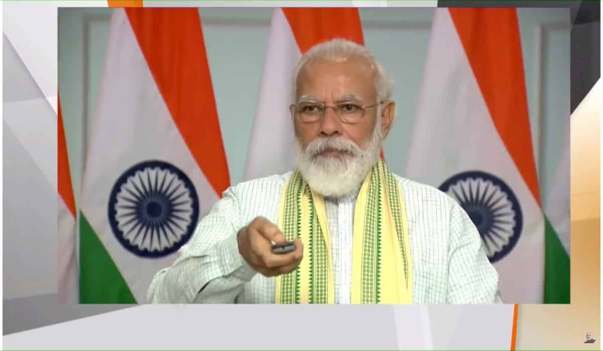PM Narendra Modi Inaugurates Asia's Largest Solar Plant