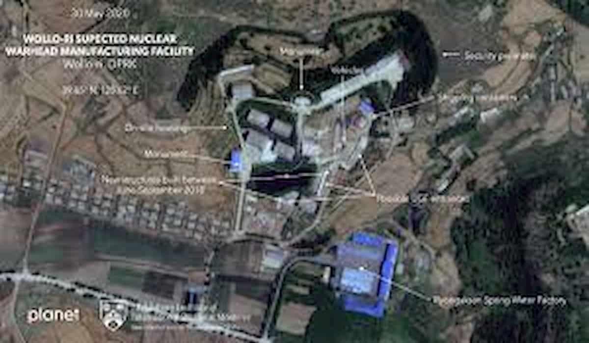 North Korea Satellite Imaginary