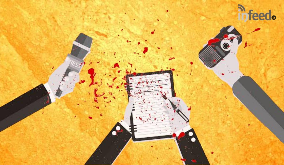 Scribe Killed in India