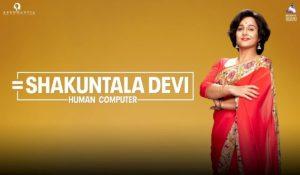 Shakuntala Devi movie vidya balan