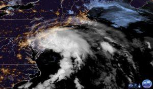 Storm Fay Hits Newyork