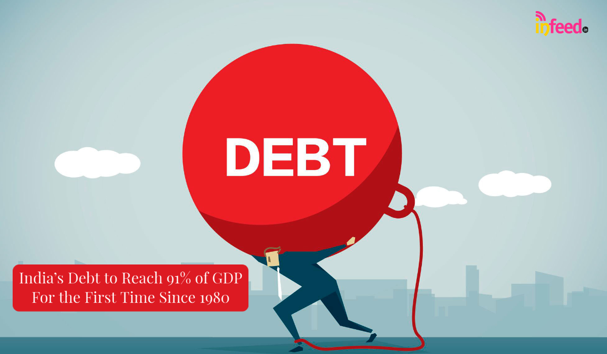 Government's Debt to Reach 91% of GDP in 2020-21