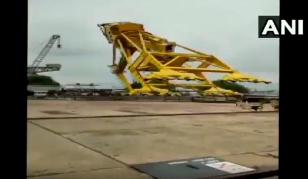 Vishakhapatnam Crane Crash