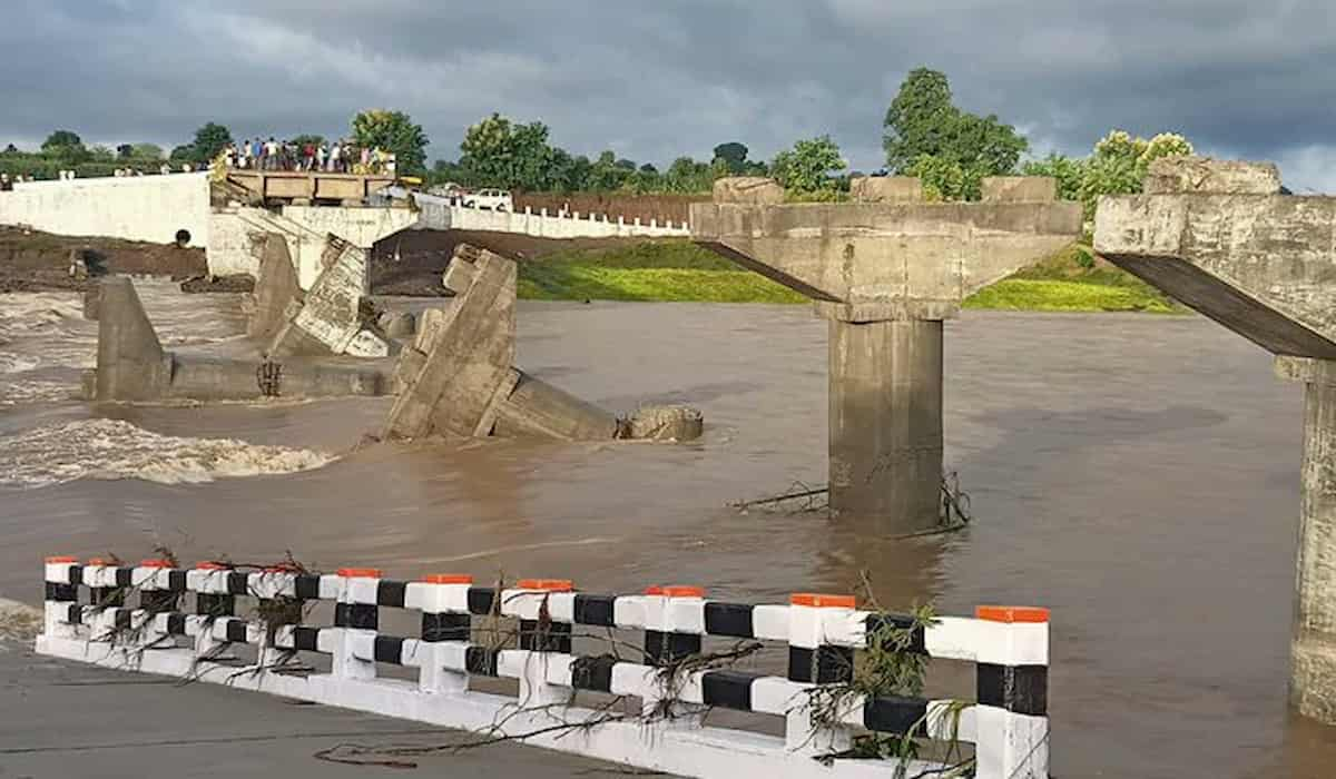 In MP, Bridge Collapses Even Before its inauguration