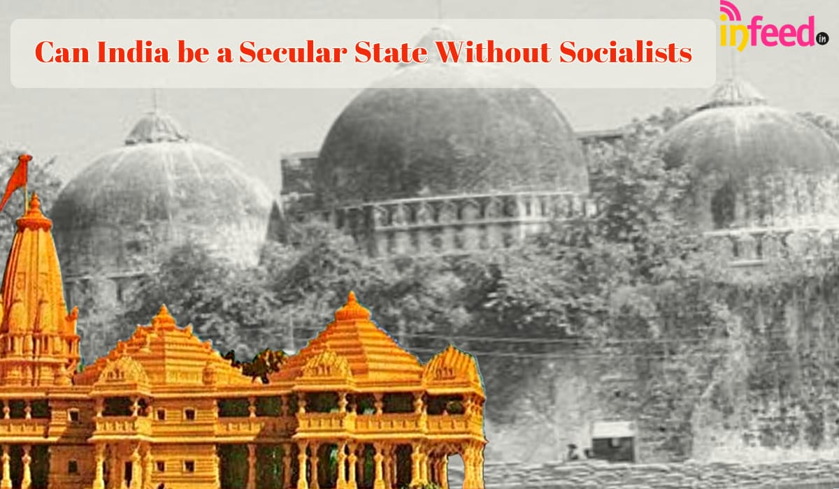 Can India be a secular state without Socialists
