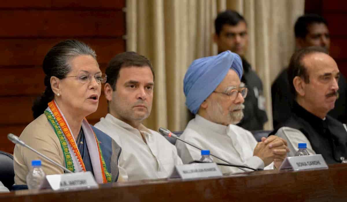 Congress working committee reconstituted