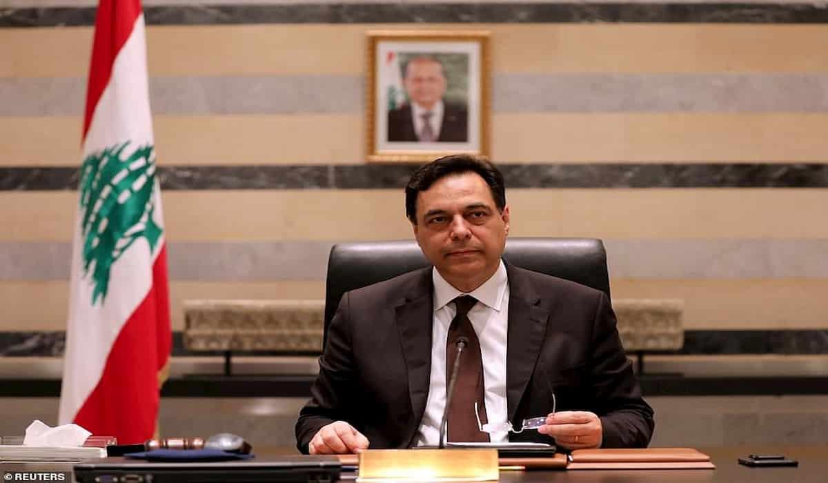 Lebanese PM Hasan Diab Resigns after Beirut Blast