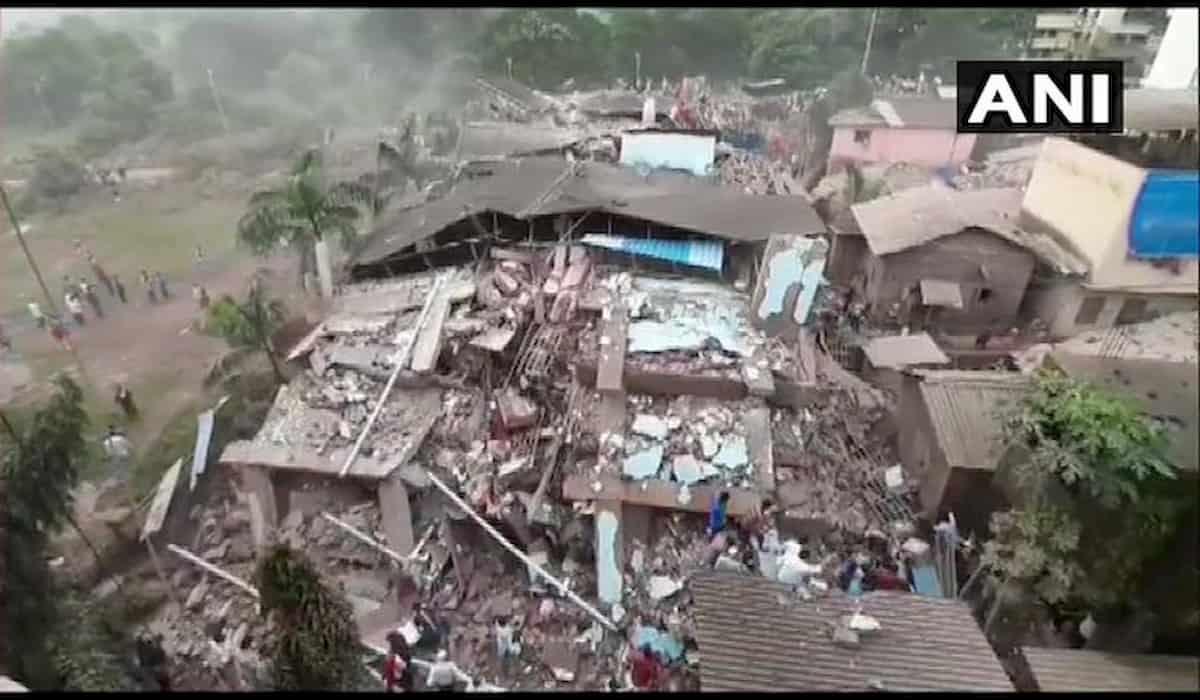 Building Collapses in Mahad Raigarh