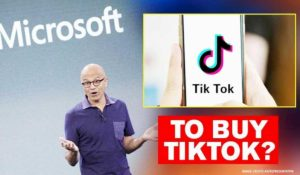 Microsoft in talks with Tiktok to buy us operations