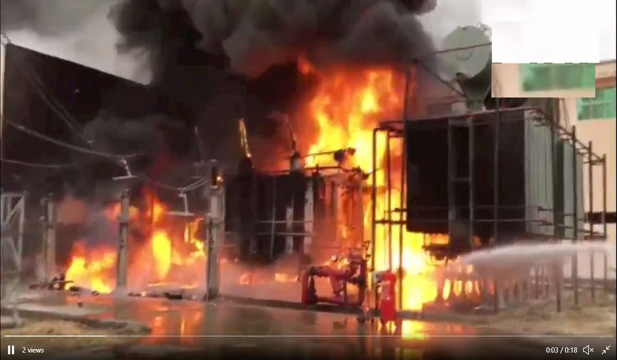 Fire Breaks out at NPCL Substation, Greater Noida