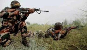 Pak Terrorists trying to enter Indian Border