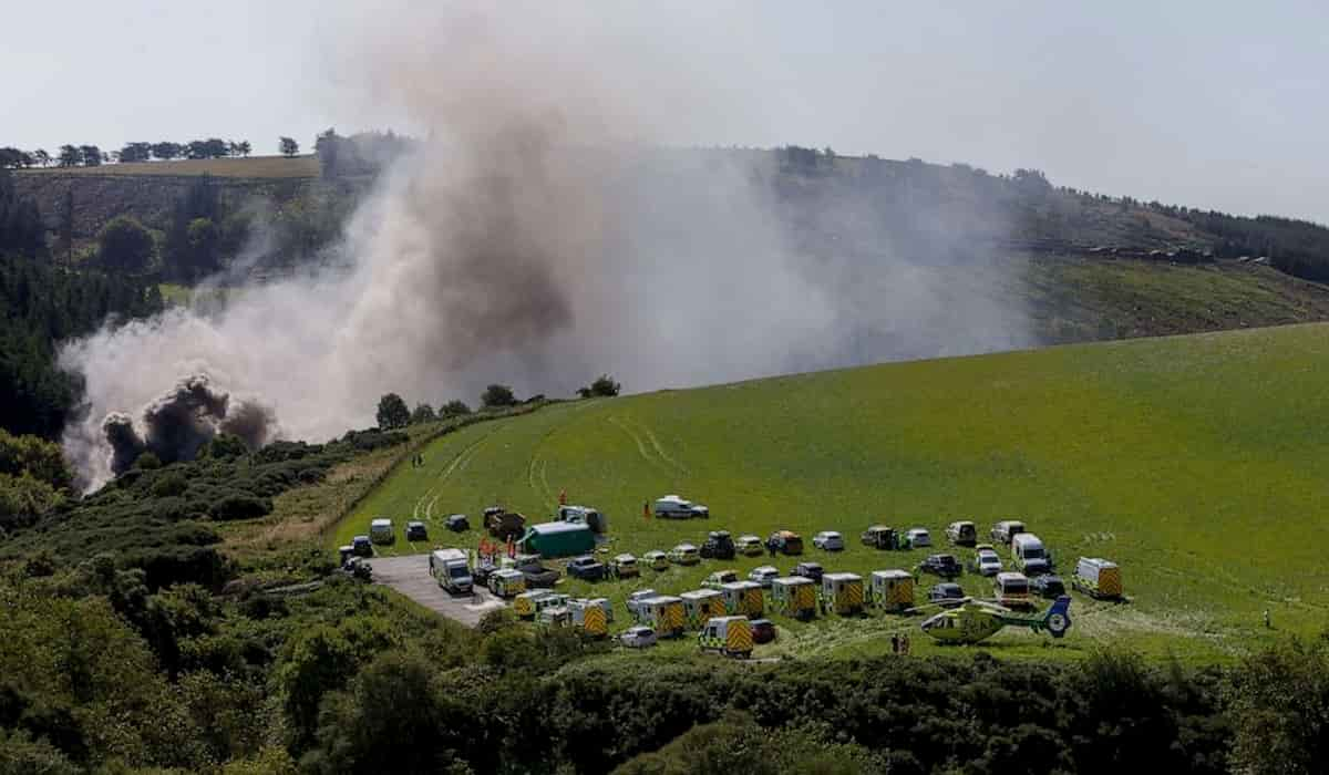 3 Dead after train derailed in Scotland