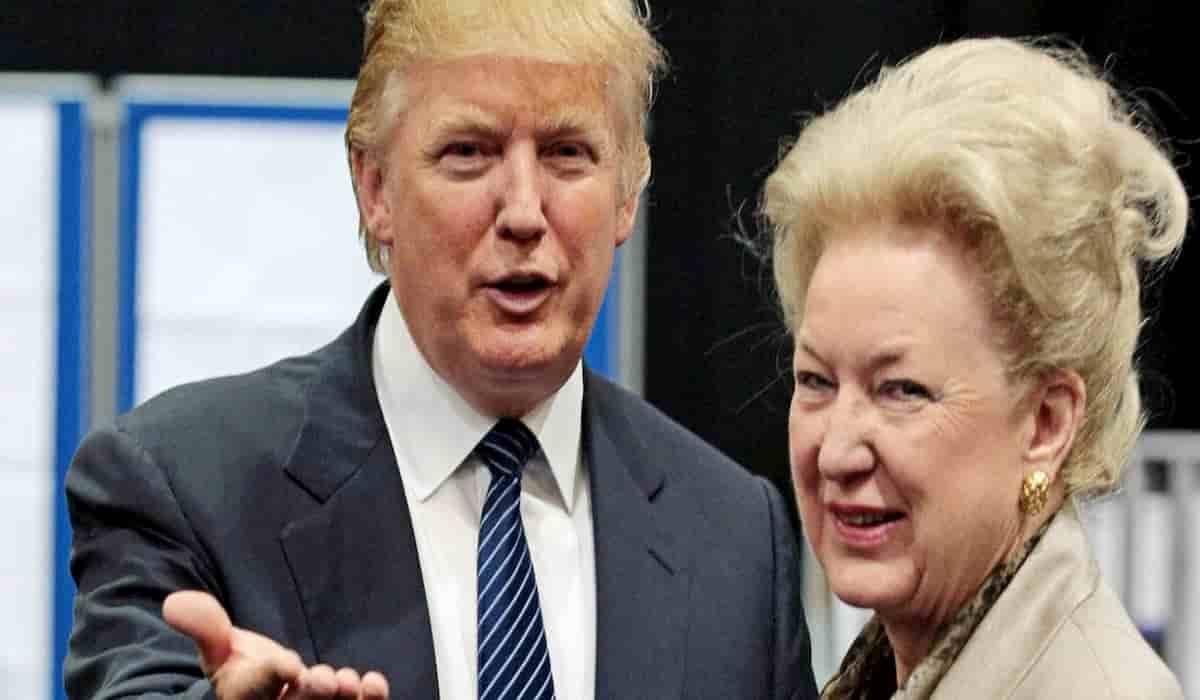 Trump Sister Alleges US President has no principles