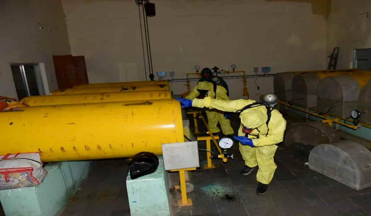 Varanasi Chlorine gas leakage