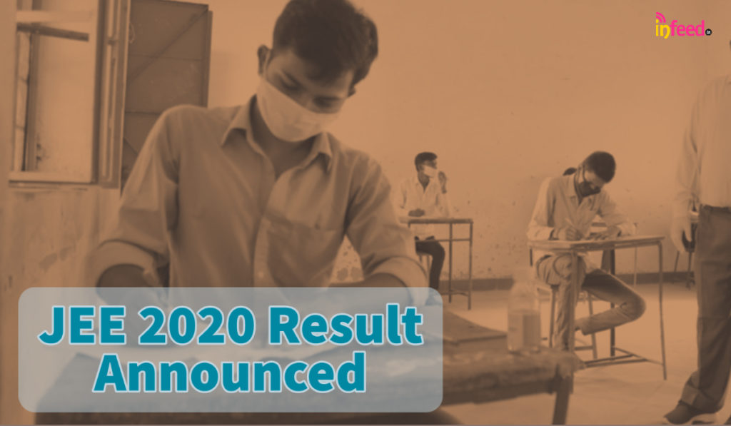 JEE 2020 Result Announced, 24 get 100 percentile