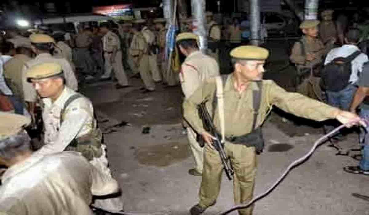Ballia Police Station Mob Attack