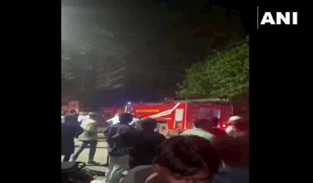 2 died in a fire in Kolkata's Ganesh Chandra Avenue
