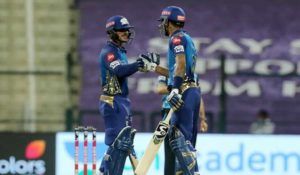 Quinton De Kock Shipped Mumbai Indians to Fifth Win in a Row