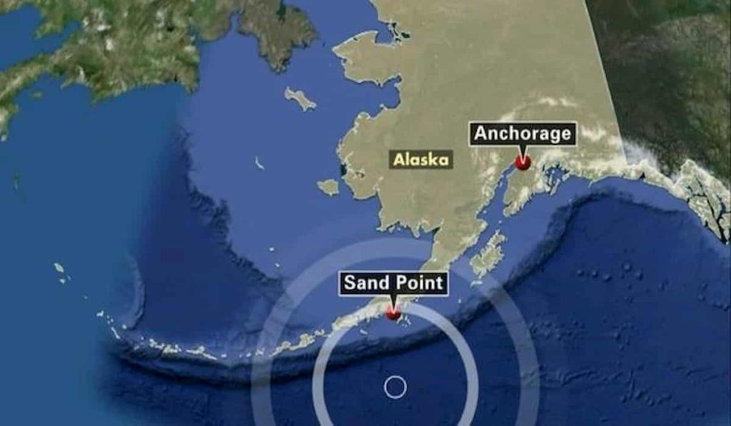 Powerful Earthquake Triggers Tsunami in Alaska