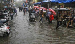 Heavy Rain in Mumbai and Thane