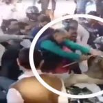 Jhansi SP City Beaten By BJP Leader